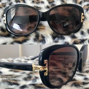 TORY BURCH Sunglasses GOLD LOGO TY 7090 1377/13